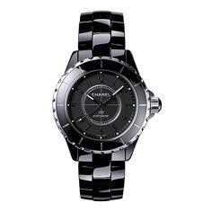 chanel j12 black ceramic bracelet watch - Product number 2183684 Chanel  J12, Chanel Watch, 4359e9c746