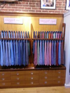 New tie display