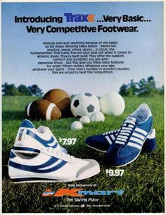 Kmart's Trax Athletic Shoes (1976)