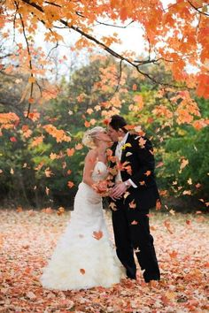 38 How To Incorporate Fall Leaves Into Your Wedding   HappyWedd.com