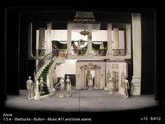 David Korins' set design for Annie on Broadway.