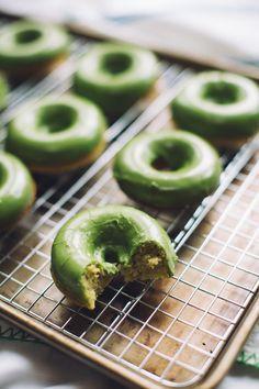 Matcha Green Tea Baked Donuts  http://youtu.be/9-m6jAoZtP0?list=PL81ef2gEnaNNgq9jCAP6D4k27mO0SjVEw
