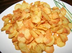 Gourmet Recipes, Snack Recipes, Healthy Recipes, Healthy Food, Vegetable Chips, Chicken Steak, French Fries, Food Print, Hamburger