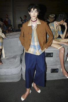 Edward Crutchley Menswear Collection Spring Summer 2017 in London