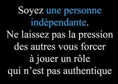Citation Femme Independante