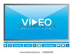 Modern Video Player Interface