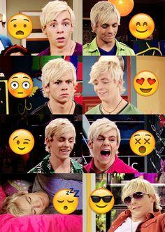 Austin and emojis
