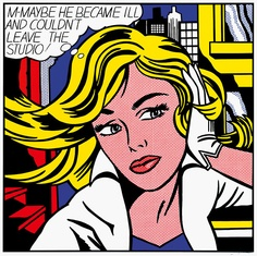30 Golden Examples of Roy Lichtenstein POP Art - Bored Art Roy Lichtenstein Pop Art, Arte Pop, Comic Kunst, Comic Art, Pop Art Kostüm, Pop Art Bilder, Art Madrid, Museum Ludwig, Andy Warhol Marilyn