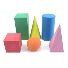 Una aproximación a los cuerpos geométricos - Aprendiendo matemáticas