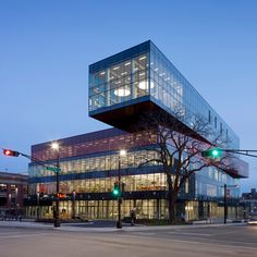 World Building of the Year shortlist: Halifax Library by Schmidt Hammer Lassen comprises four stacked blocks.
