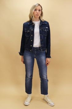 Size on Label – M Measurements Shoulder Width - 16 Bust - Waist - Shoulder to Hem - Tavistock, Denim Jeans, Jackets, Shopping, Vintage, Fashion, Down Jackets, Moda, La Mode