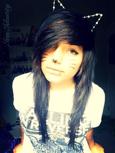 Very cute. I love her bangs!!