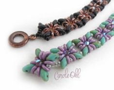Oh Silkies Bracelet Tutorial by Carole Ohl by openseed on Etsy
