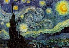 The Starry Night  By: Vincent Van Gogh