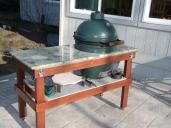New Egghead and Large Egg Table - Big Green Egg - EGGhead Forum - The Ultimate Cooking Experience...