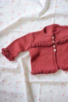 Darling baby sweater