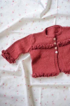 Darling baby sweater