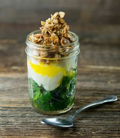 Savory Granola - salty and crunchy and just right for sprinkling on soups and salads and all kinds of things!