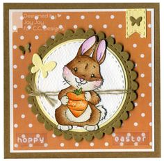 Animal Crackers Carrot Love, C.C. Cutters Make A Card #3