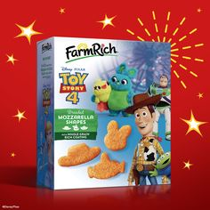 From frozen meatballs to mozzarella sticks, Farm Rich has the best snacks for quick meals and easy dinners. Find easy recipes, savings, party ideas and more! Disney Toys, Disney Pixar, Toy Story Food, Cheese Curds, After School Snacks, Frozen Meals, Disney Frozen, Mozzarella, Play Kitchens