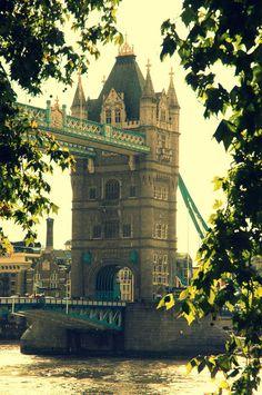 London Calls me a Stranger - tower bridge