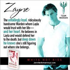 White Hot Kiss Teaser by Jennifer L. Armentrout aka J. Lynn. Meet Zayne, super super hot guy. Plus there's a huge giveaway!
