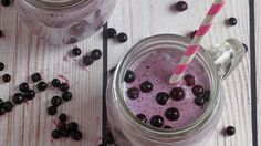Wild Blueberry Tropical Smoothie Recipe by Ann The of My Menu Pal Tropical Smoothie Recipes, Protein Smoothie Recipes, Smoothie Packs, Smoothie Bowl, Healthy Carbs, Healthy Meals For Kids, Healthy Snacks, Wild Blueberries, Meal Replacement Smoothies