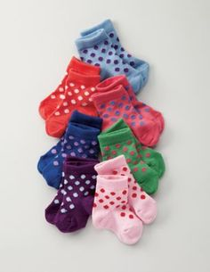 Dotty little socks