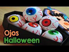 DIY : Ojos De Terror Para Halloween - Brotes De Creatividad - YouTube