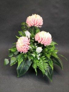 STROIKI NA GROBY - Kompozycje kwiatowe Marko604 Flowers For Mom, Arte Floral, Ikebana, Funeral, Pretty In Pink, Floral Arrangements, Christmas Holidays, Floral Wreath, Wreaths