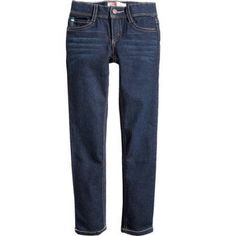 LEI Girls' Essential Skinny Jeans, Size: 8, Gray