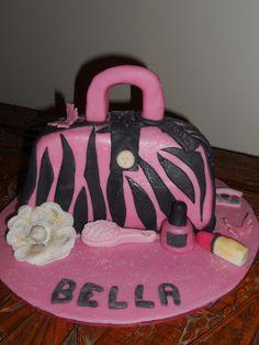21st Birthday Red Velvet Handbag Cake