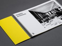 Hoskins Architects by Graphical House. #stationery #branding