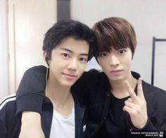 Jaemin and Yuta