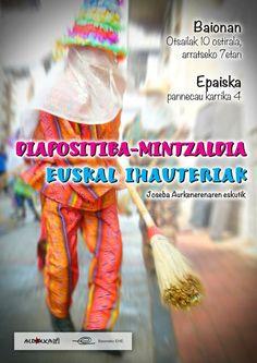 """Joseba Aurkenerena """"Euskal ihauteriak"""" — Euskal kultur erakundea"""