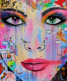 "Saatchi Online Artist Loui Jover; Painting, ""pop me (canvas)"" #art"