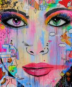 "Saatchi Online Artist Loui Jover; Painting, ""pop me (canvas)"" #art"