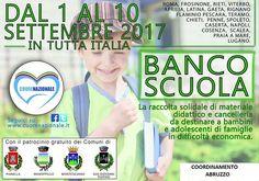 Cuore Nazionale Abruzzo: terza edizione del progetto  Banco Scuola dall 1 al 10 settembre