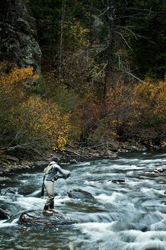 Fly Fishing the Big Thompson River, Colorado