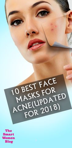10 Best Face Masks for Acne(Updated for Face Mask For Pores, Best Face Mask, Diy Face Mask, Best Skincare Products, Best Face Products, Pore Mask, Peel Off Mask, Happy Skin, Skin Care Remedies