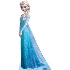 Disney's Frozen Snow Queen Elsa Stand-up Poster   ToysRUs