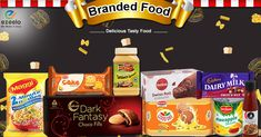 Fresh & Delicious Branded Products are available online for Kanpur at ezeelo.com https://bit.ly/2HzBraU (Kanpur) #offer #discount #kanpur #ezeelo #grocery #readytoeat #brandedfood