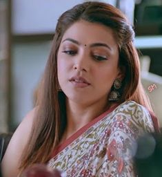 42. Kajal Aggarwal Face Expression Beautiful Girl Indian, Most Beautiful Indian Actress, Beautiful Girl Image, Beautiful Heroine, Beautiful Women, South Indian Actress Photo, Indian Actress Photos, Actress Pics, Indian Actresses