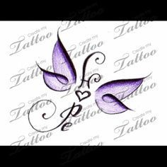 Fibromyalgia Butterfly Tattoo | wrist tattoo designs with small dragonfly | Small Inner Wrist Tattoo ...