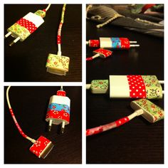 Diy chargeur iPhone avec washe tape  !