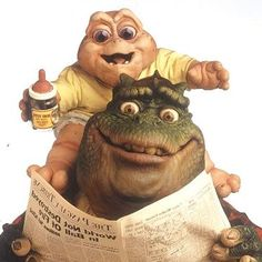 Die Dinos (TV Series I'm the baby gotta love me😁 90s Childhood, My Childhood Memories, Sweet Memories, Dinosaurs Tv Series, Dinosaur Facts, 90s Tv Shows, Old Kids Tv Shows, Mejores Series Tv, Fraggle Rock