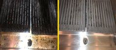 #KitchenDeepClean #BeforeAndAfterGrill #TheFluidWay http://www.fluidhygiene.com/specialist-cleaning/kitchen-deep-cleaning/