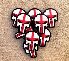 Punisher PVC Patch, St George Edition