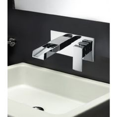 Tec Studio Z Wall Mounted Basin Tap  • Brand - Synergy Bathroom Solutions  • Modern square design  • Kit includes fixtures and fittings  • Ceramic disc technology  • Manufactured from solid brass with a chrome finish  • Minimum pressure - 0.5 Bar (flow rate of 16.8 litres per minute)  • Suitable for all plumbing systems  • Bath Waste supplied separately  • 10 Year Warranty
