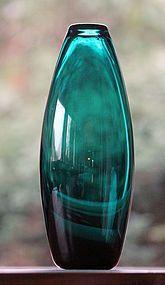 Per Lutken, Holmegaard, Denmark: Art Glass Vase, 'Grønland' Series.  I have the largest size.